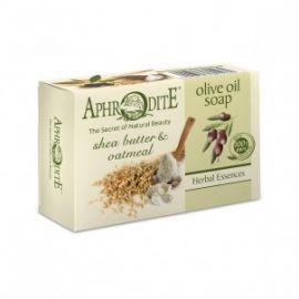 Olivové mýdlo s bambuckým máslem a ovesnými vločkami Aphrodite 100g