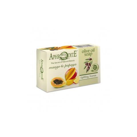 Olivové mýdlo s mangem a papayou Aphrodite 100 g