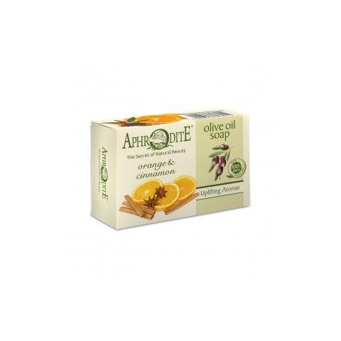 Olivové mýdlo s pomerančem a skořicí Aphrodite 100g