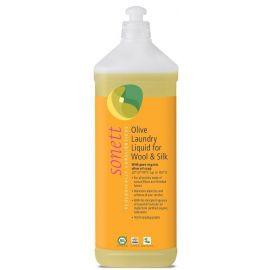 Olivový prací gel na vlnu a hedvábí SONETT  1l