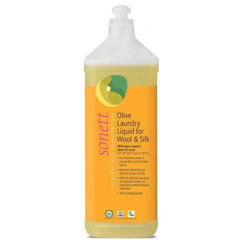 Olivový prací gel na vlnu a hedvábí Sonett 1 L