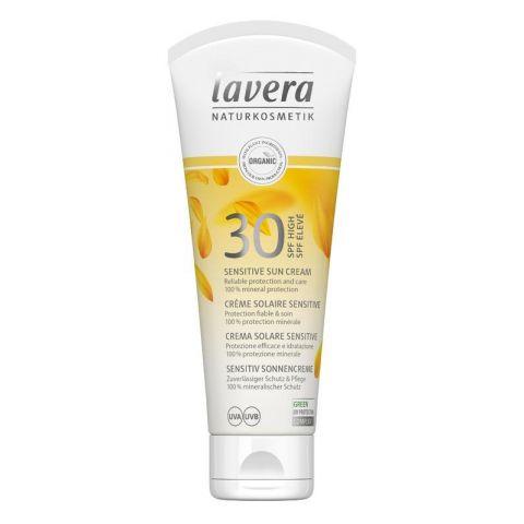 Opalovací krém Sensitiv SPF 30 Lavera 100 ml