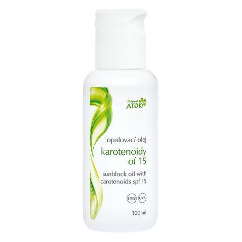 Opalovací olej Karotenoidy OF15 Atok 100 ml