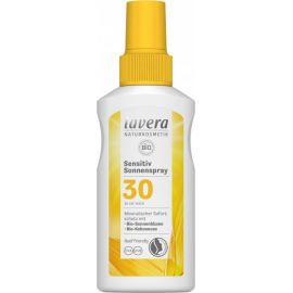 Opalovací sprej Sensitiv SPF 30 Lavera 100 ml