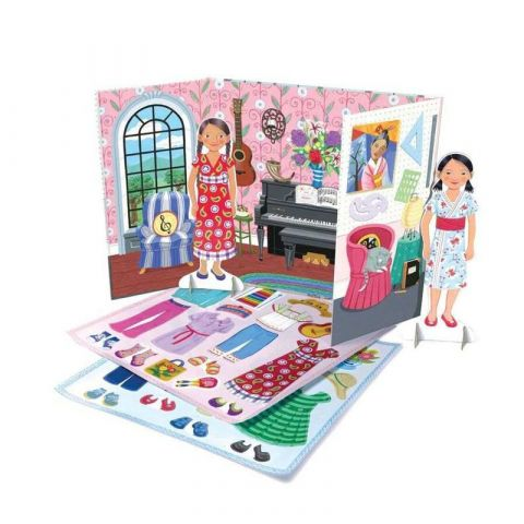 Papírové panenky - Hudebnice a umělkyně Eeboo