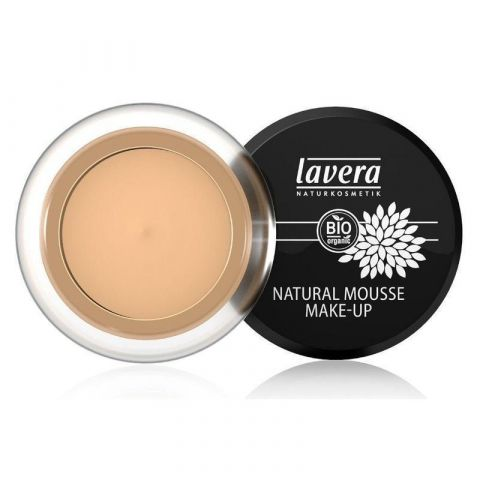 Pěnový make-up - 03 med  Lavera 15g