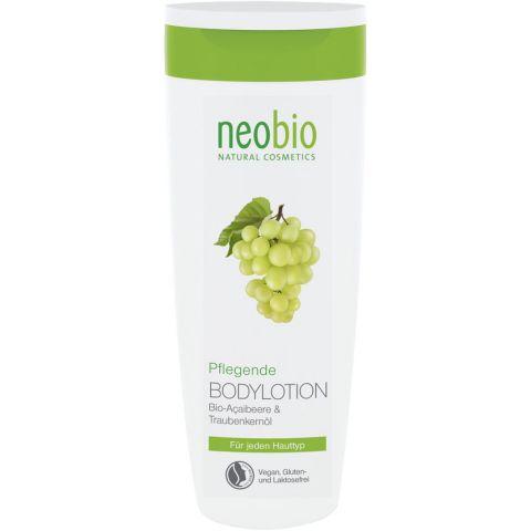 Pěstící tělové mléko Bio Acai & Hroznový olej Neobio 250 ml
