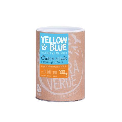 Pískový čistič dóza Yellow & Blue 0,5kg