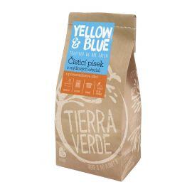 Pískový čistič sáček Yellow & Blue 1kg