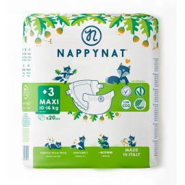 Plenky Maxi Nappynat 10-16 kg 20 ks
