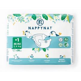 Plenky Mini Nappynat 2-6 kg 26 ks