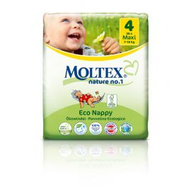 Plenky nature no.1 Maxi 7-18 kg Moltex 30 ks