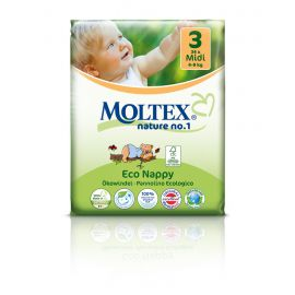 Plenky nature no.1 Midi 4-9 kg Moltex 34 ks