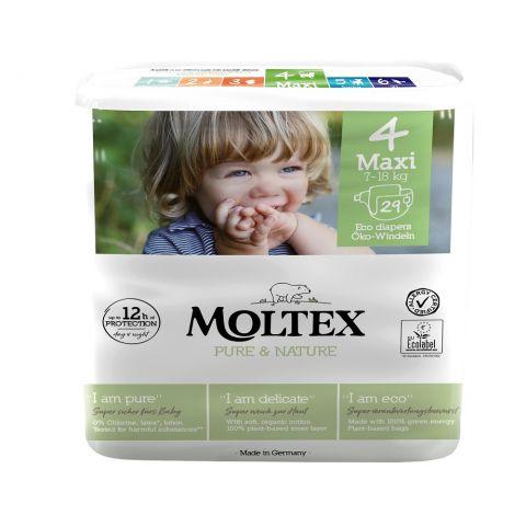 Plenky Pure & Nature Maxi Moltex 7-18 kg 29 ks