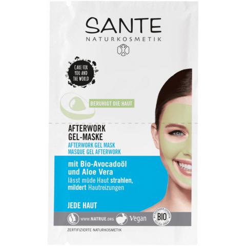 Pleťová maska Krásná po práci Sante 2 x 4 ml