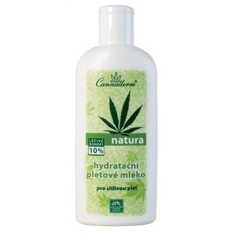 Pleťové mléko hydratační Cannaderm NATURA 200 ml