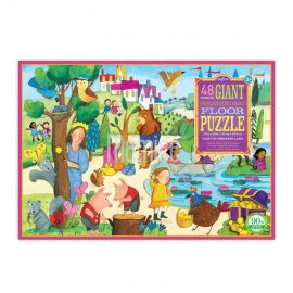 Podlahové puzzle Země princezen 48 dílků Eeboo