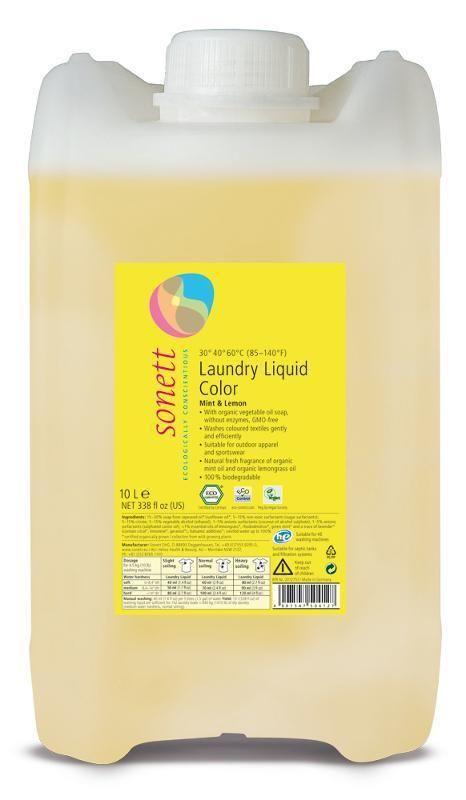 Sonett Color Prací gel na barevné prádlo 10l