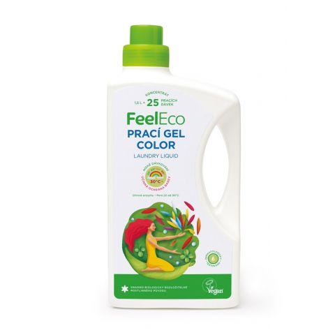 Prací gel na barevné prádlo Feel eco 1,5 L
