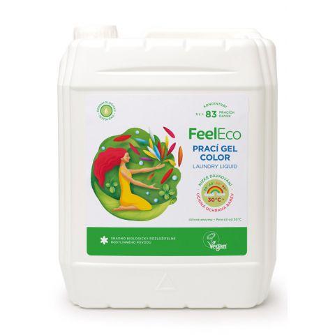Prací gel na barevné prádlo Feel eco 5L