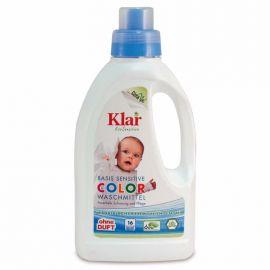 Prací gel na barevné prádlo KLAR  750 ml