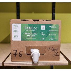 Prací gel na bílé prádlo 1 L Feel eco - BEZOBAL
