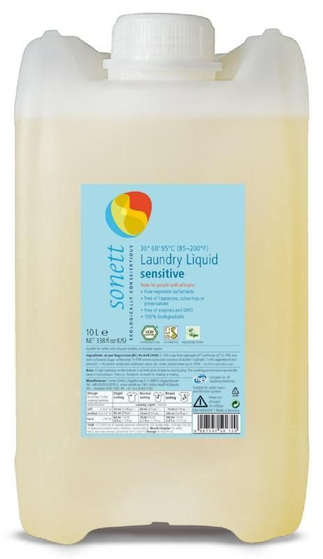 Sonett Prací gel Sensitive 10 L