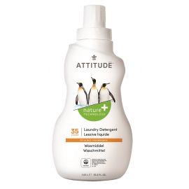 Prací gel s vůní citronové kůry Attitude 1050 ml