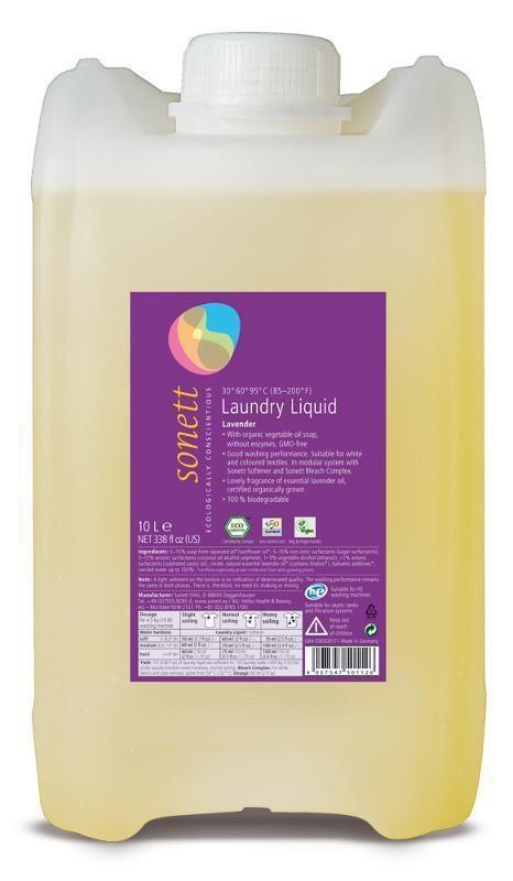 Sonett Prací gel na bílé a barevné prádlo 10 L