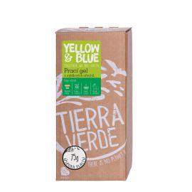 Prací gel z mýdlových ořechů bez vůně Yellow & Blue 2 l