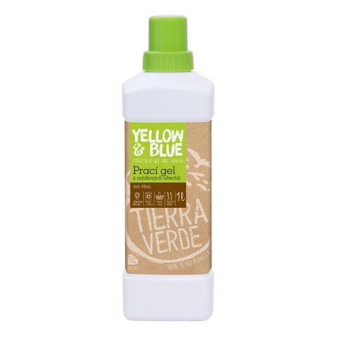 Prací gel z mýdlových ořechů na vlnu Tierra Verde 1L