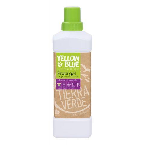 Prací gel z mýdlových ořechů s levandulí Tierra Verde 1L