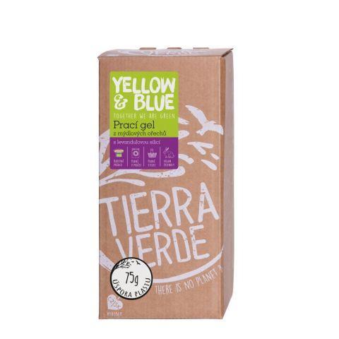 Prací gel z mýdlových ořechů s levandulí Tierra Verde 2 l
