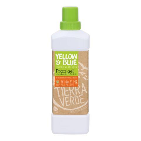 Prací gel z mýdlových ořechů s pomerančem Tierra Verde 1L