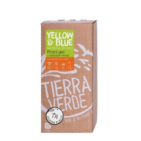 Prací gel z mýdlových ořechů s pomerančem Yellow & Blue 2 l