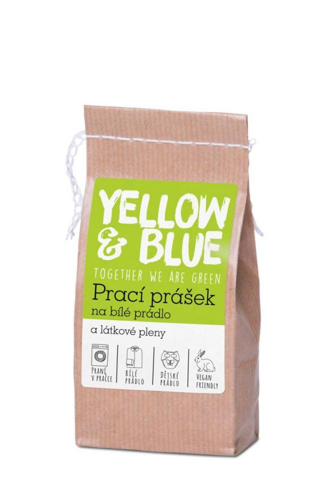 Yellow & Blue Prací prášek na bílé prádlo a pleny 250g