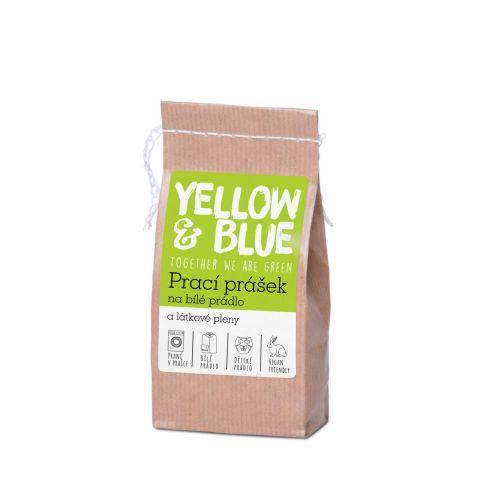 Prací prášek na bílé prádlo a pleny Yellow & Blue 250g