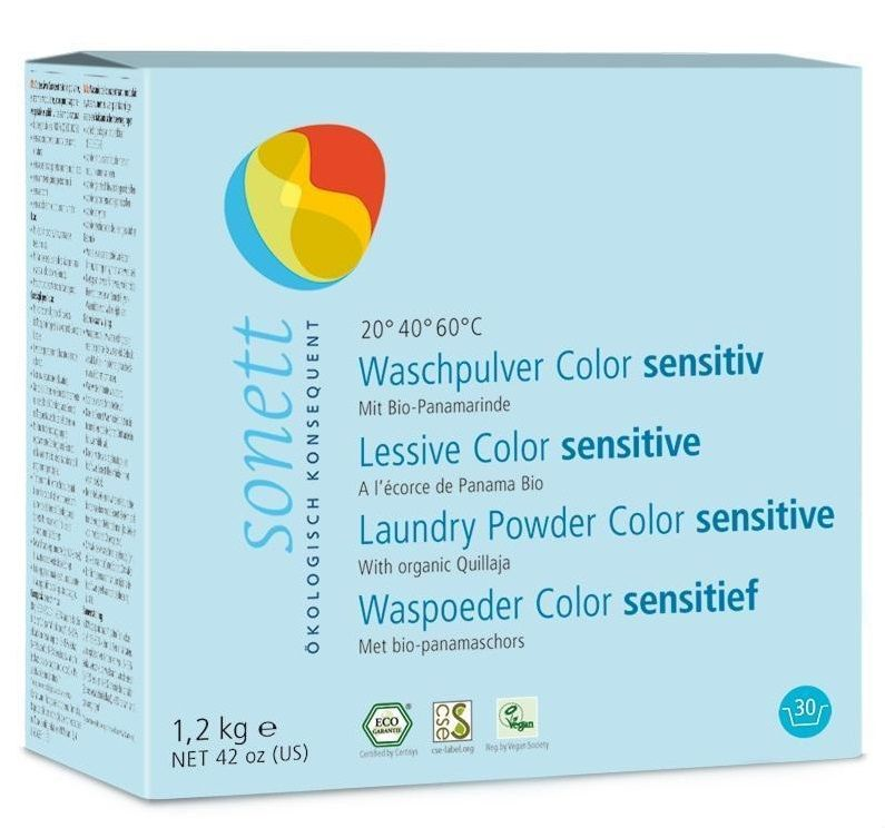 Sonett Color Sensitive prací prášek na barevné