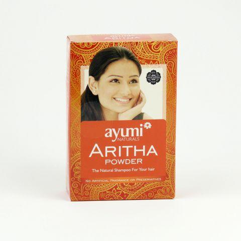 Prášek ARITHA-přírodní vlasový šampon Ayumi  100g