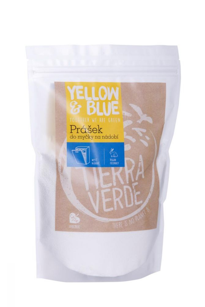 Prášek do myčky Yellow & Blue 1 kg