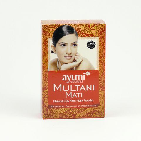 Prášek MULTANI MATI-přírodní pleťová maska Ayumi 100g