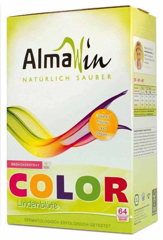 AlmaWin Prášek na praní - barevné a jemné prádlo 2000 g