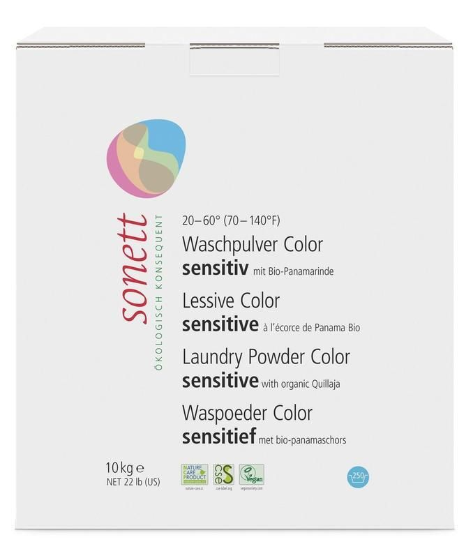 Prášek na praní COLOR - Sensitive Sonett 10 kg + Doprava Zdarma