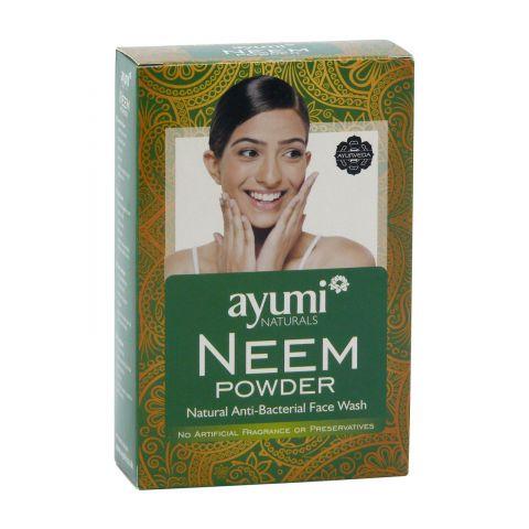 Prášek NEEM-antibakteriální přípravek na obličej Ayumi100g