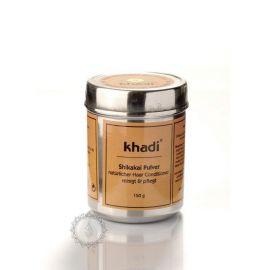 Prášek SHIKAKAI - přírodní kondicioner a intenzivní vlasová kúra Khadi 150g