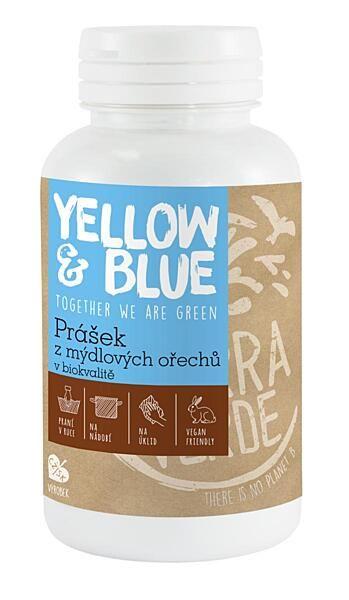 Yellow & Blue Prášek z mýdlových ořechů dóza 100g