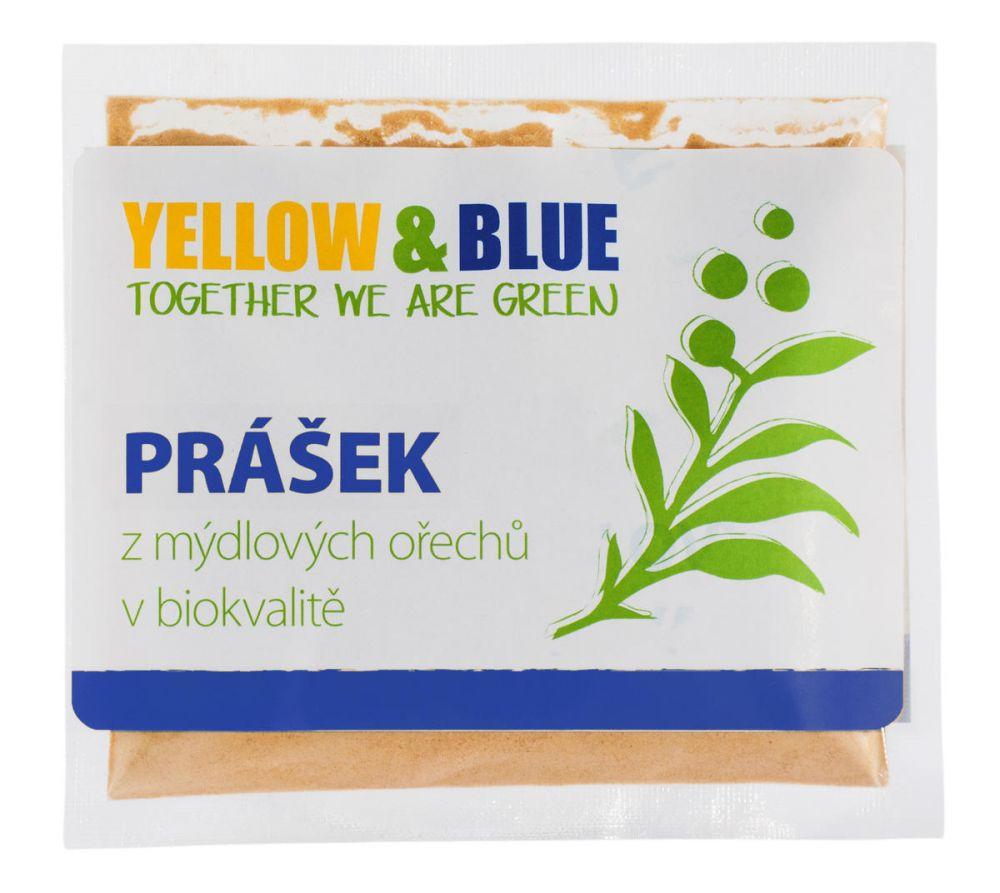 Yellow & Blue Prášek z mýdlových ořechů sáček 100g