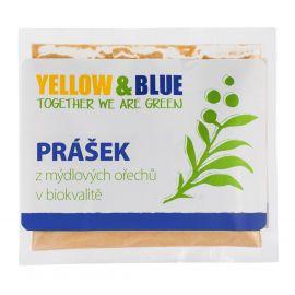 Prášek z mýdlových ořechů sáček Yellow & Blue  100g