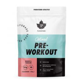 Pre-Workout Caffeine Free mango - malina Puhdistamo 350g
