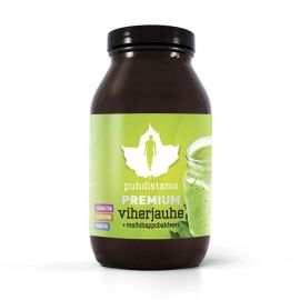 Premium Green Powder (Prémiová směs zelených superpotravin) Puhdistamo 120g